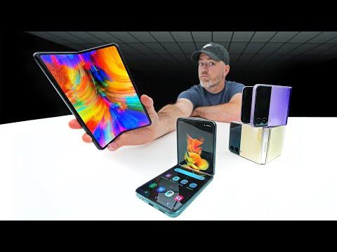 Samsung Galaxy Z Fold 3, Galaxy Z Flip 3, Galaxy Watch 4 and Galaxy Buds 2 Mega Unboxing...