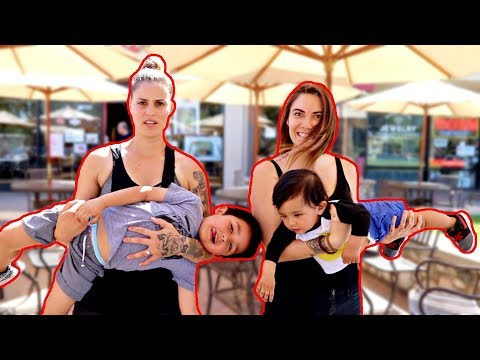 RAISING KIDS FOR A DAY!!! | Sam and Alyssa |