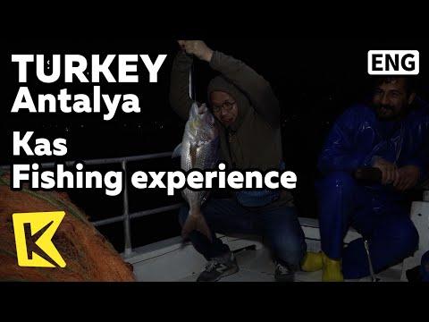 【K】Turkey Travel-Antalya[터키 여행-안탈리아]카쉬 고기잡이 체험/Fishing/Kas/Port/Fishing ship