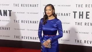 "Grace Dove ""The Revenant"" Premiere Red Carpet in Los Angeles"