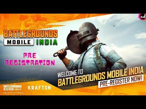 How To PRE REGISTER BATTLEGROUNDS Mobile INDIA | PUBG MOBILE Game Registration Starts