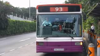 SBST: Service 93 [SBS 2637B] Volvo B10M Mark IV (Walter Alexander Strider)