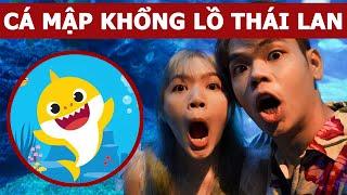 Cá mập khổng lồ ở thủy cung Thái Lan (Oops Banana Vlog #115)