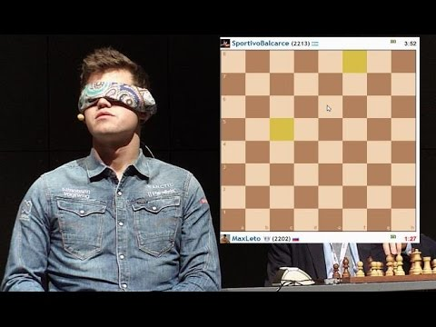 Играю в шахматы вслепую!   Blindfold chess game