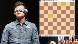 Играю в шахматы вслепую! | Blindfold chess game