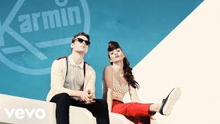 Karmin - Walking On The Moon (Lyric Video)