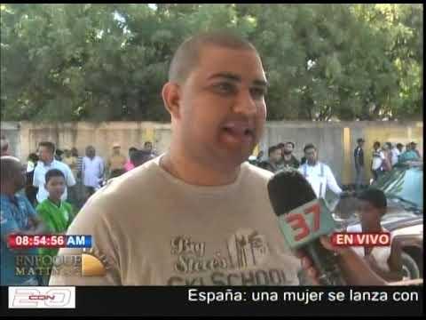 Saquean un local de celulares en Santiago