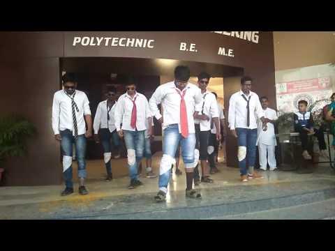 AGCE gathering dance of CSE department student handsome devils no 1. funny dance