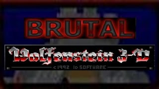 [Brutal Wolfenstein 3D]  Escape from Wolfenstein (1° Ep)