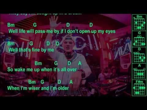 Avicii - Wake Me Up - Original - Chords & Lyrics