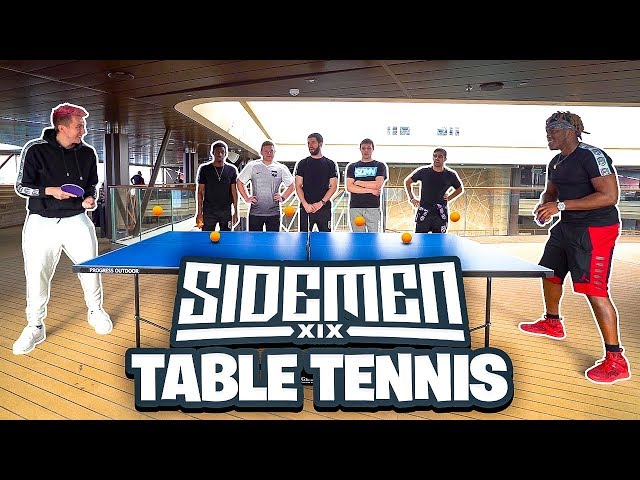 SIDEMEN TABLE TENNIS TOURNAMENT
