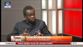 It Is Dangerous To Declare War Against Corruption -- Prof Lumumba