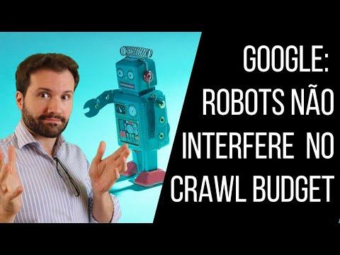 Google: urls com Disallow no Robots não afetam Crawl Budget