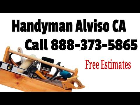 Handyman Alviso CA -  888-373-5856 - Best Local Handyman Service in Alviso Calif