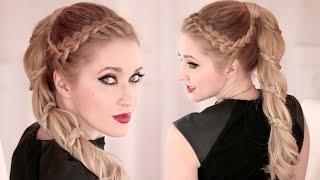 Высокий хвост с плетением ★ Спиральная коса ★ Причёска на длинные волосы(В этом видео уроке я вам покажу шаг за шагом, как самой себе сделать красивую причёску с плетением, а именно..., 2015-02-25T07:31:24.000Z)