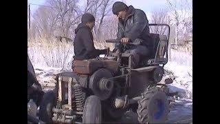 Гонки на самодельных тракторах