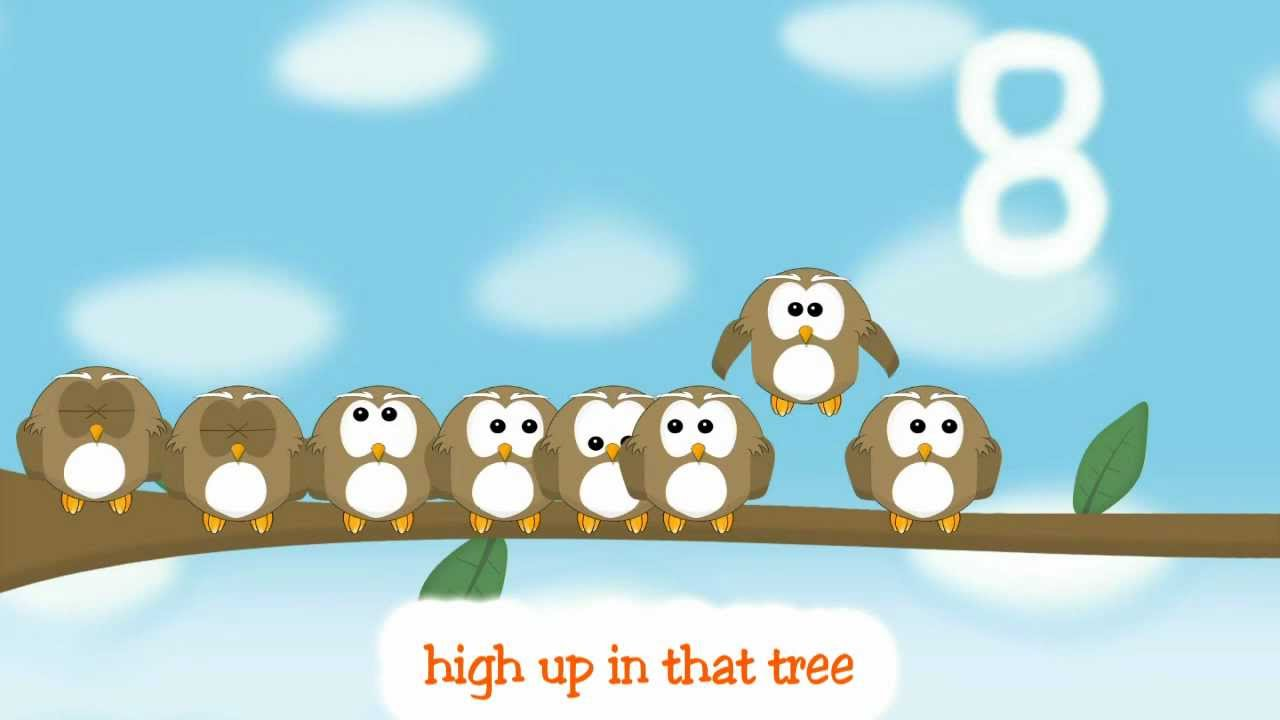 kids songs ten little owls counting for kids youtube - Owl Pictures For Kids