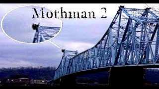 MOTHMAN MONSTER - A NEW THEORY (real or fake)