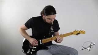 Black Strat Demo Replica by MarconiLAB (Confortably Numb)