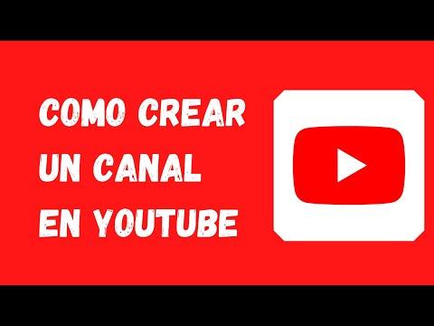✅Como crear un canal de YouTube 【Fácil 2021】