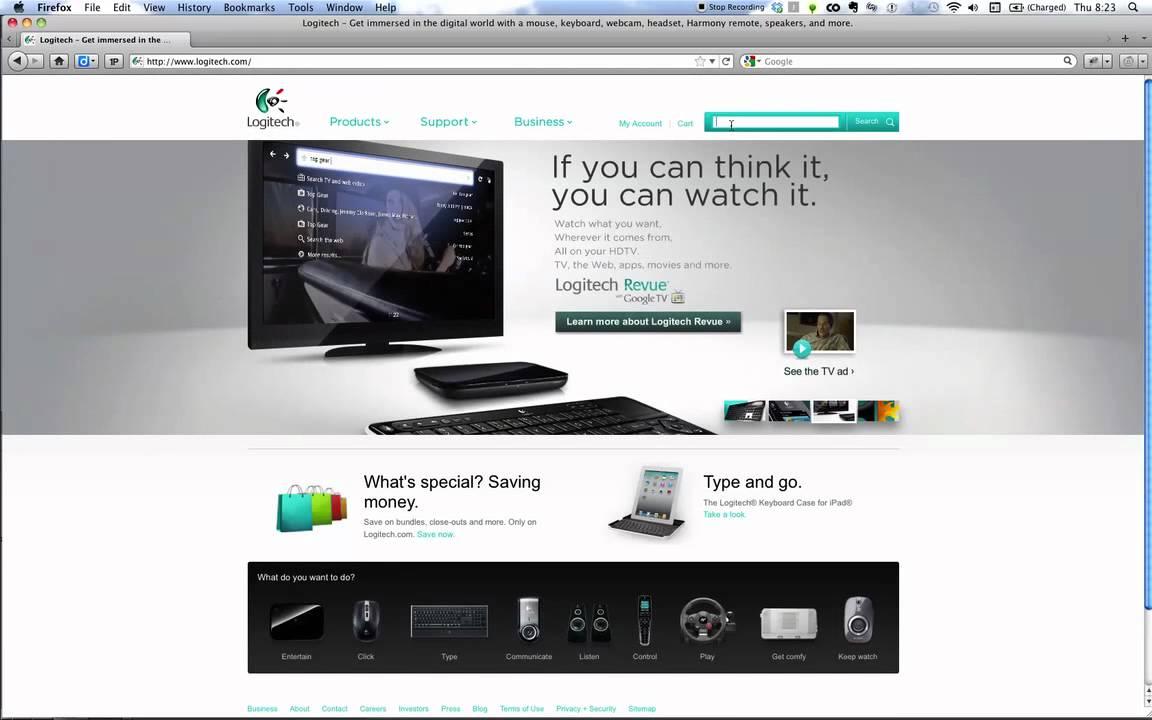 Logitech V250 Mouse/Pad SetPoint Driver PC