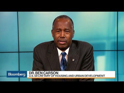 HUD Sec. Ben Carson on Housing Reform and Fannie, Freddie Conservatorship