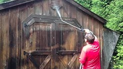 Cleaning Wood Siding