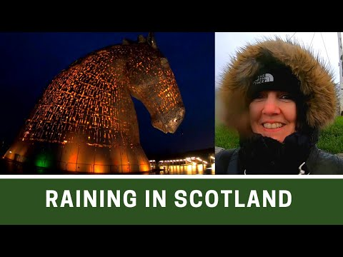 EDINBURGH and FALKIRK visit on a WET DAY  | Poshcats Vlogmas 2019 Part 7 | Ep181