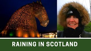 A Wet Day in Edinburgh and Falkirk | Poshcats Vlogmas 2019 Part 7 | Ep181