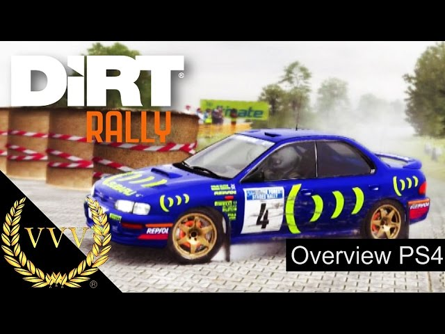 DiRT Rally Overview - PS4 Gameplay