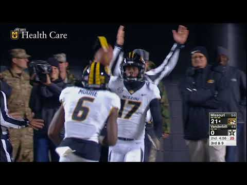 HIGHLIGHTS: Mizzou Becomes Bowl-Eligible In 45-17 Win At Vanderbilt