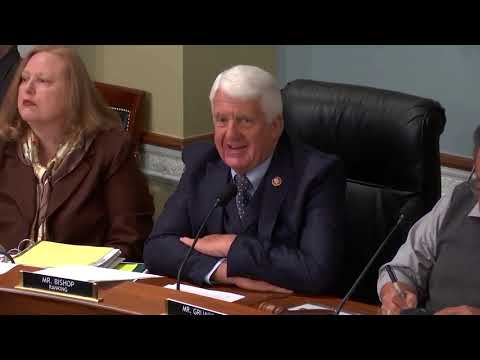 Rep. Bishop Opening Statement on Partisan Natural Resources Democrats