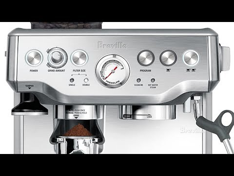 Breville BES870XL Barista Express Espresso Machine Review and Guide to Use