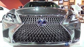 2018 Lexus LS 500h - Exterior and  Interior Walkaround - 2018 Chicago Auto Show