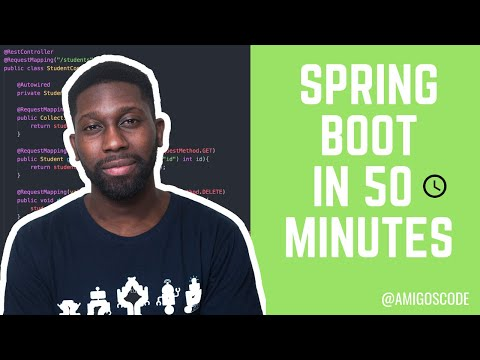 Learn Spring Boot (MVC) in 50 Minutes
