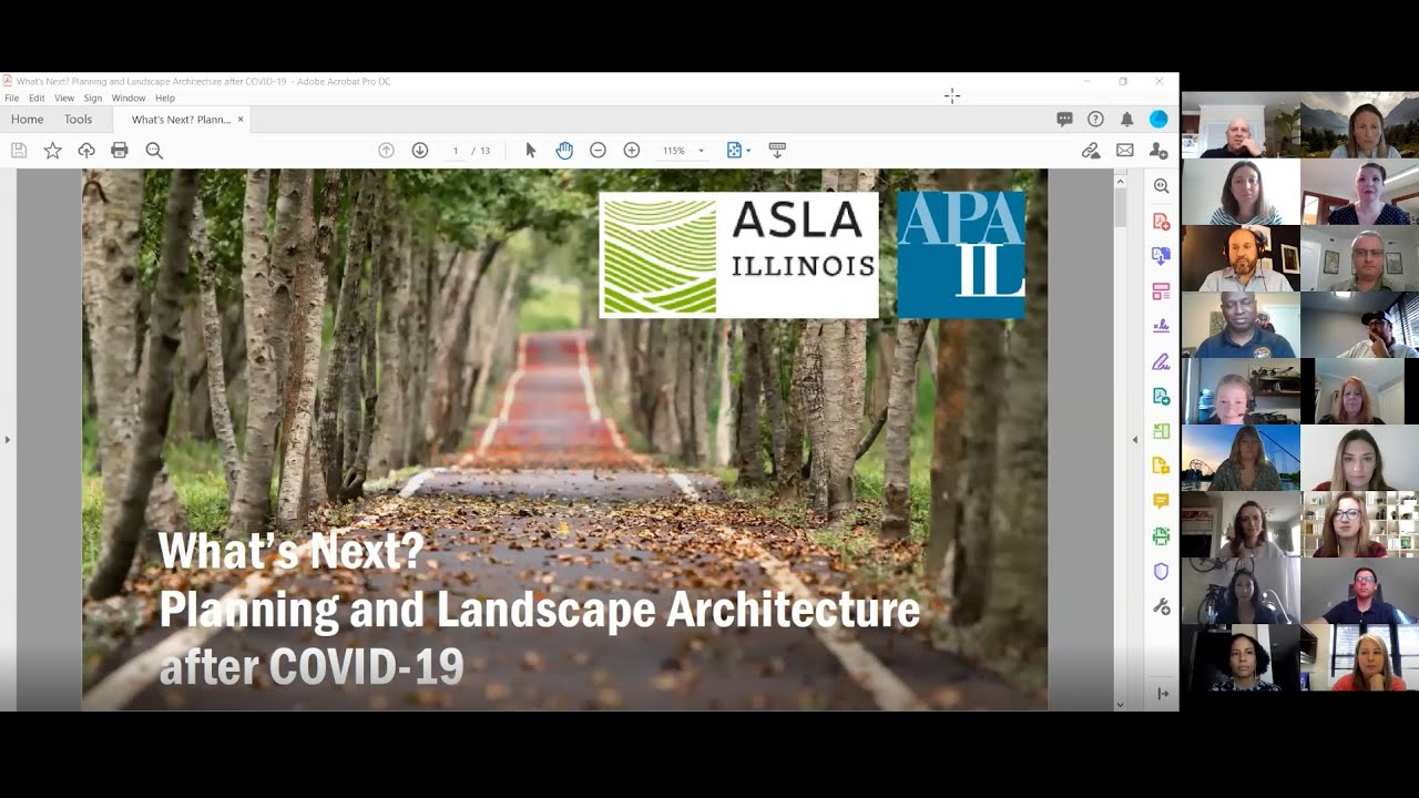 Watch the APA-CMS & ILASLA Panel Discussion: What's Next? Planning and Landscape Architecture After