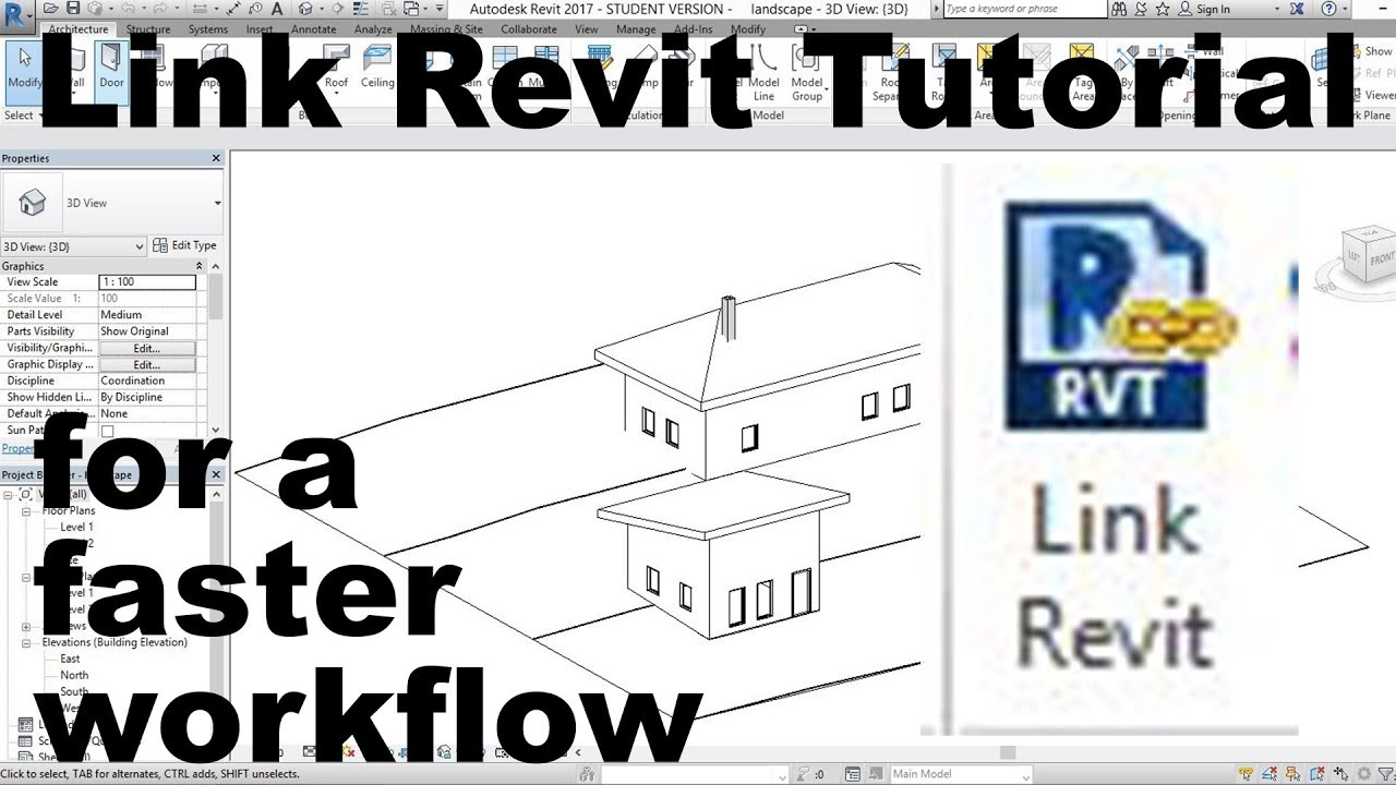 Links in revit tutorial for a faster workflow youtube links in revit tutorial for a faster workflow ccuart Gallery