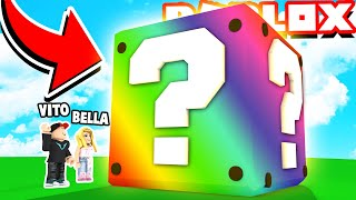 THE BIGGEST LUCKY BLOCK IN THE WORLD IN ROBLOX!! 😱 VITO I BELLA