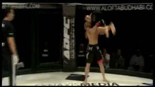 adfc maiky reiter vs abbas mullamahdi side fight round 1