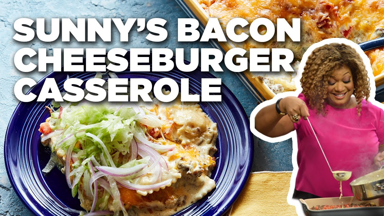 Sunnys bacon cheeseburger casserole food network youtube sunnys bacon cheeseburger casserole food network forumfinder Gallery