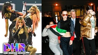 Fifth Harmony SLAY First Performance as Foursome - Kendall & Bella AMBUSHED by Fan (DHR)