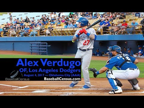 Alex Verdugo, OF, Los Angeles Dodgers — August 4, 2017