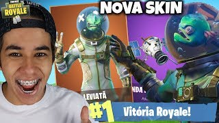 I BOUGHT THE LEVIATHAN SKIN COMBO AT THE FORTNITE BATTLE ROYALE