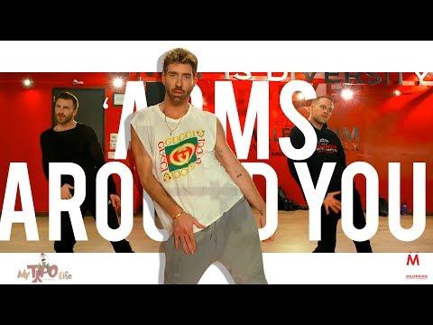 XXXTentacion & Lil Pump Ft. Swae Lee & Maluma - Arms Around You | Choreography With Bobby Newberry