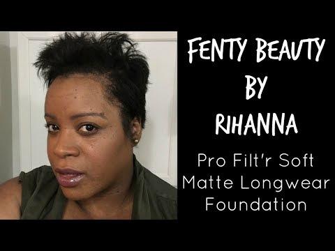 FENTY BEAUTY by Rihanna Pro-Filt'r Foundation Try On