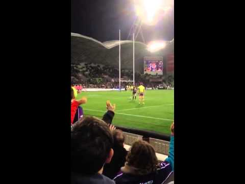 Cameron smith sideline conversion in 300th