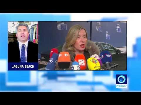 Alexander Azadgan (Live on Press TV) - Europe, Iran Nuclear Deal, Trump Reneging, etc