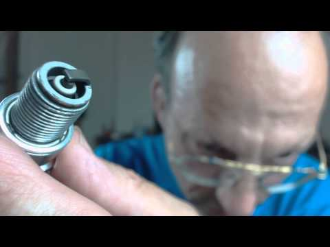NGK Cleaned spark plug - cleaned by NGK technicians