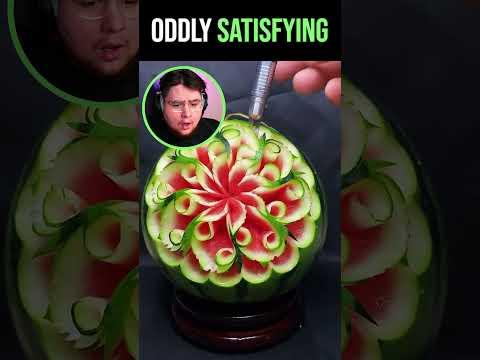 Oddly Satisfying Watermelon