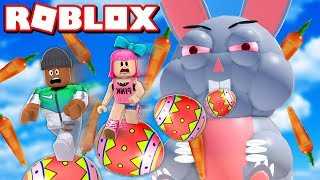 ESCAPE THE EVIL EASTER BUNNY OBBY IN ROBLOX!! (2019)